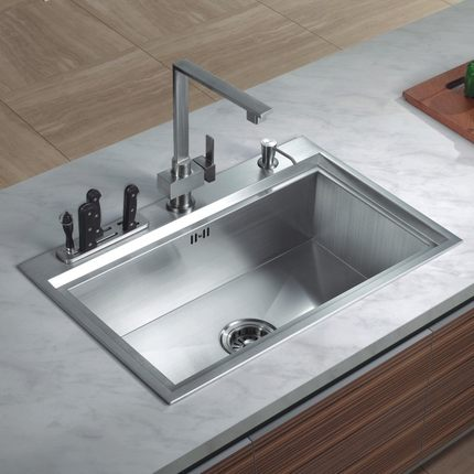 Buy Roma Ding 304 stainless steel kitchen sink basin vegetables ...