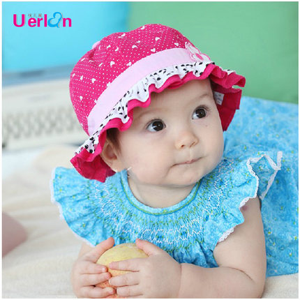a7878b2092e3 Buy Summer Infant baby girl hat bucket hats hat hat hat Korean girls spring  and summer hat free shipping in Cheap Price on m.alibaba.com